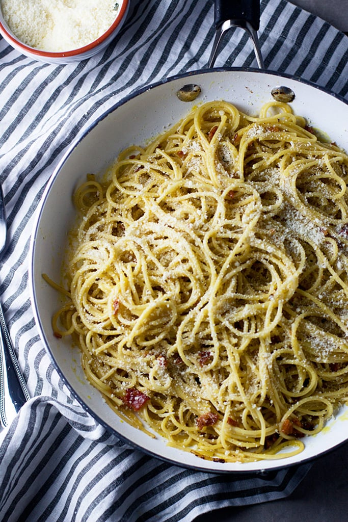 4-Ingredient Spaghetti Carbonara For 2