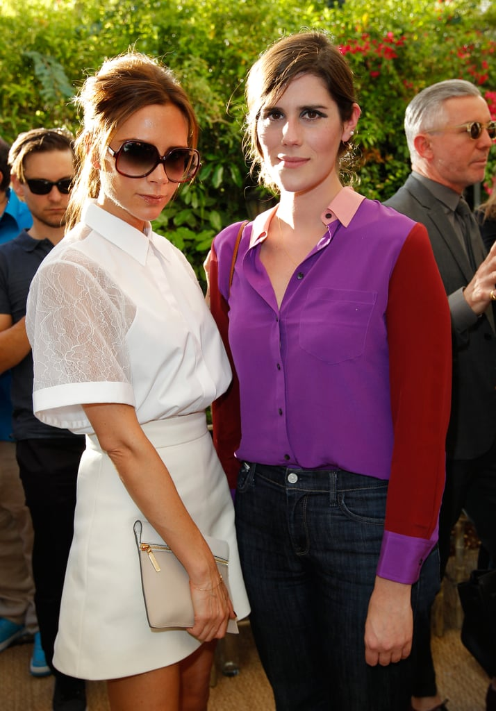 Victoria Beckham and Laura Mulleavy