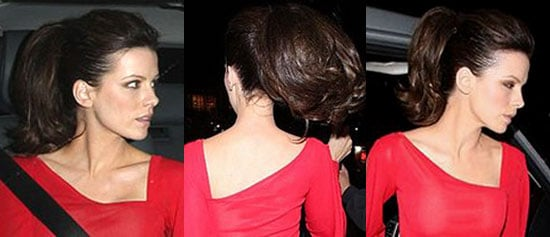 How-To: Kate Beckinsale's Bouncy Ponytail