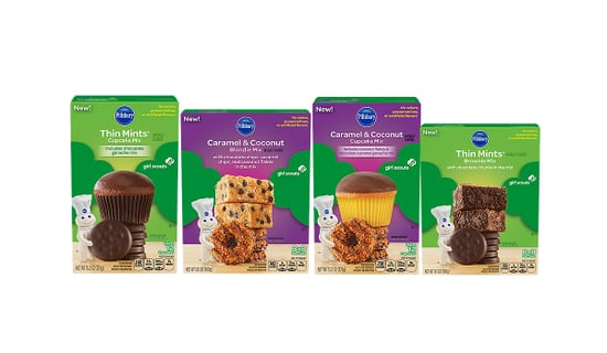 Smart Cookies! Girl Scouts Unveil Baking Mixes in Thin Mint and Samoa Flavors
