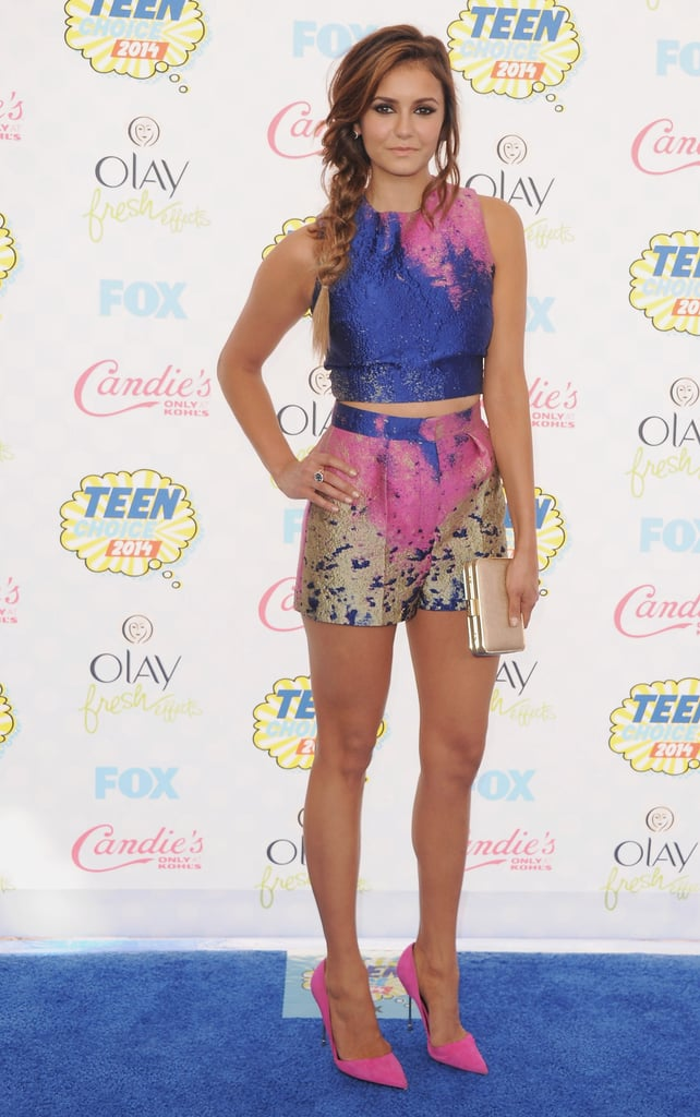 We sure do love a matching set! This one is by Vionnet, which the actress wore to the 2014 Teen Choice Awards.