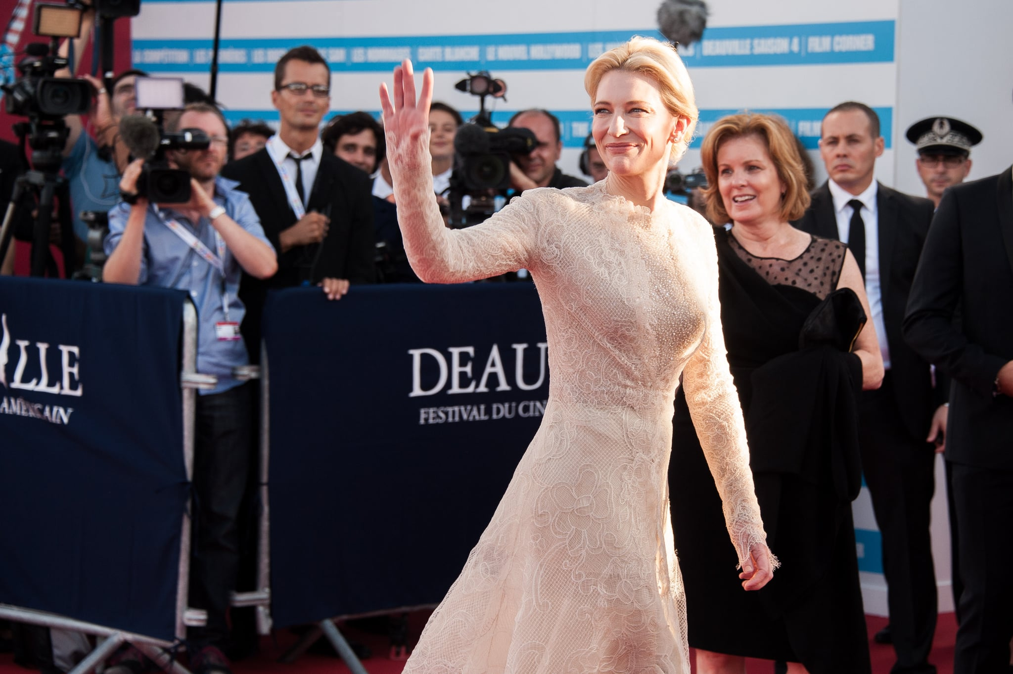 Cate Blanchett attended the opening ceremony for the Deauville American Film Festival.