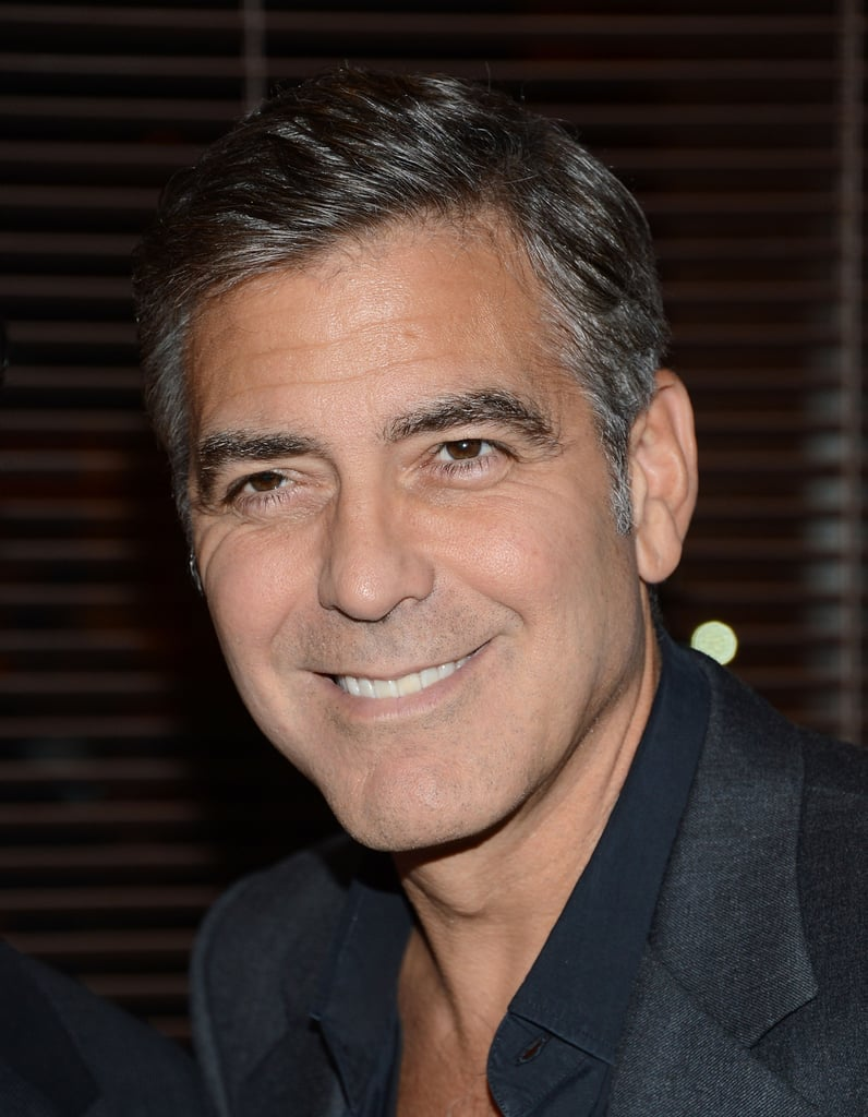 George Clooney supported Ben Affleck's new film Argo.
