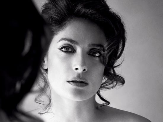 Salma Hayek Goes Topless In Allure, Talks Finding True Love