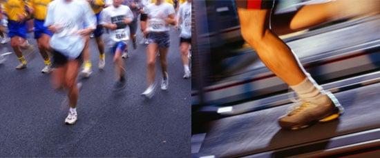Running on a Treadmill vs. Running Outdoors