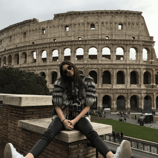 Kendall Jenner's Fendi Snapchat Tour in Rome March 2016