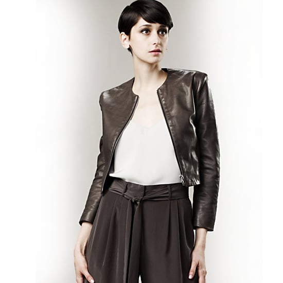 The Row Shelling Leather Jacket, $2,200
