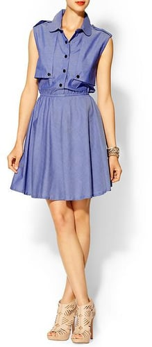 I.Madeline Denim Shirt Dress