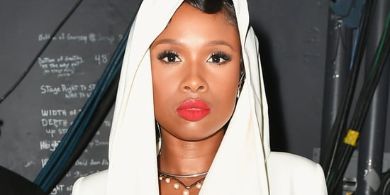 Jennifer Hudson Wears A Prince-Inspired Look For Emotional BET Tribute