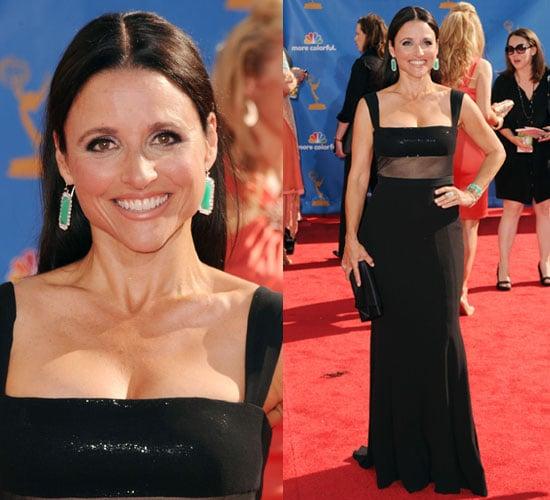 Julia Louis-Dreyfus Wears Narciso Rodriguez to 2010 Primetime Emmy Awards