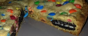 Oreo-Stuffed M&M's Cookie Cake Is So Easy to Make and So Worth It