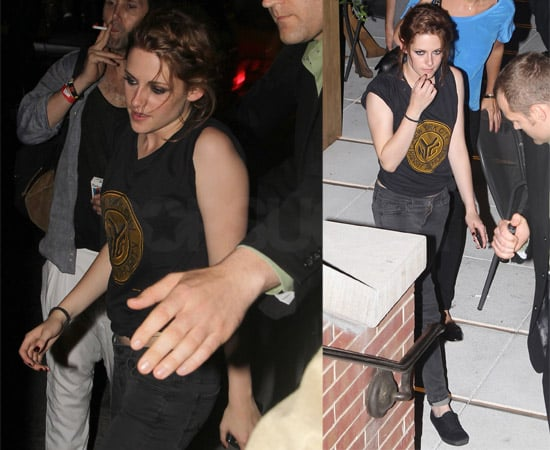 Pictures of Kristen Stewart at the Eclipse NYC Afterparty, Watch Kristen Stewart on The Today Show and Regis and Kelly
