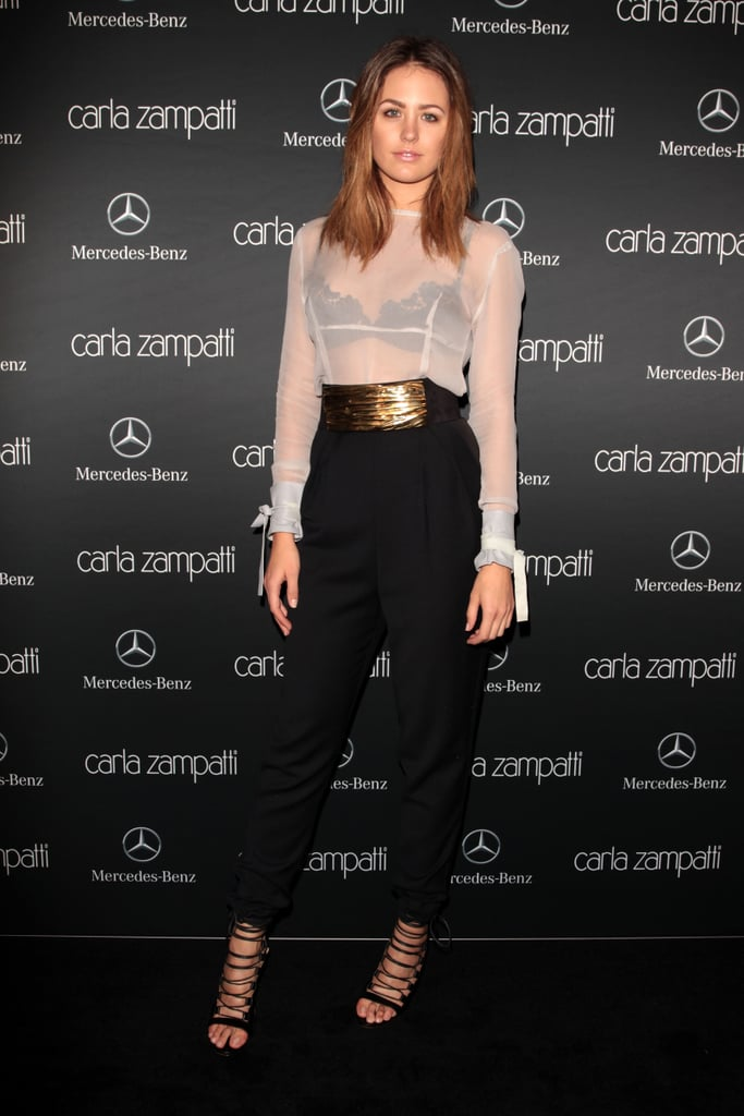 Jesinta Campbell at MBFWA Day One