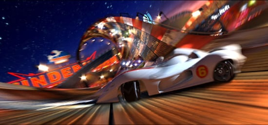 Trippy New Trailer For Speed Racer