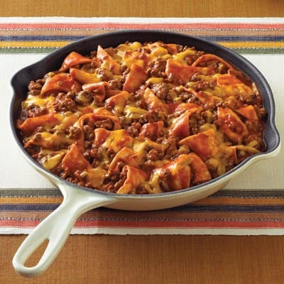 Campbell's Summer Recipes, Beef Taco Skillet
