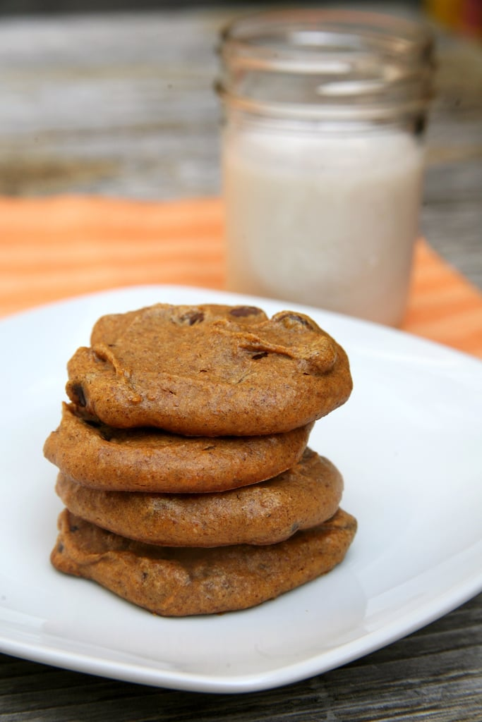 Vegan, Grain-Free Pumpkin Chocolate Chip Cookies