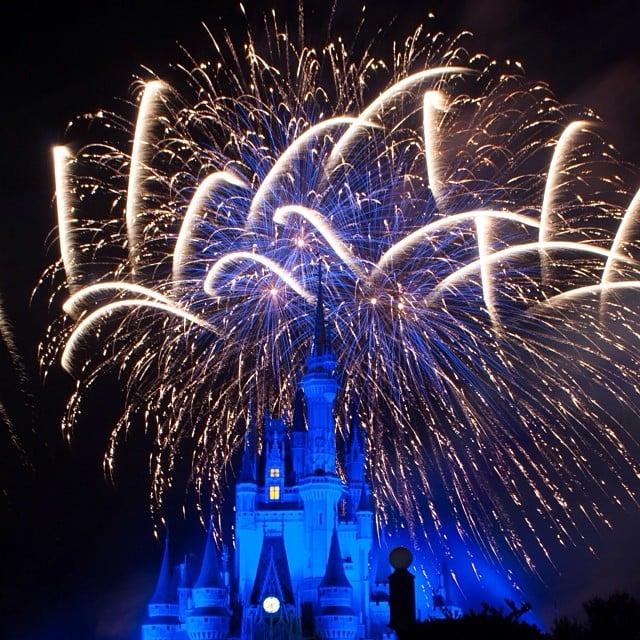 Watch the Cinderella Castle Fireworks