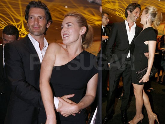 Pictures of Kate Winslet Hugging New Boyfriend Louis Dowler in Spain