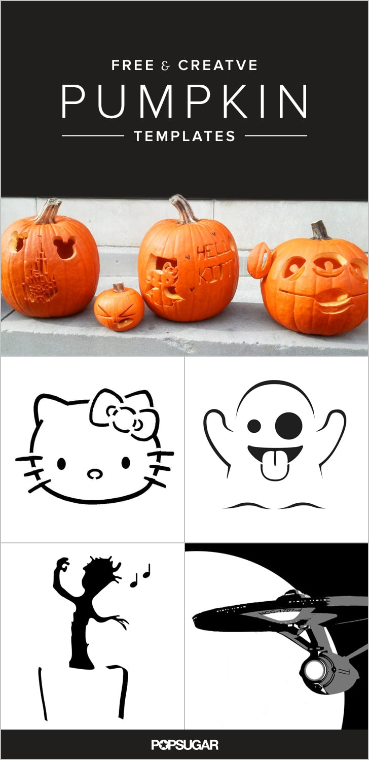 49 Free Templates For the Coolest Jack-O'Lantern on the Block