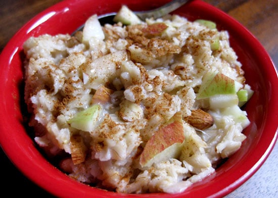 Apple-Cinnamon Oatmeal With Almonds