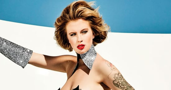 Ireland Baldwin Poses Completely Nude for Treats! Magazine