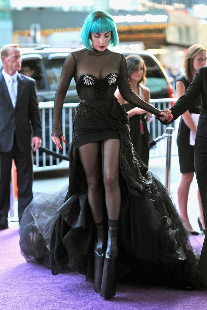 Lady Gaga in custom Mugler