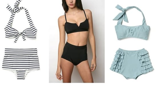 Shopping: High Waisted Swimwear