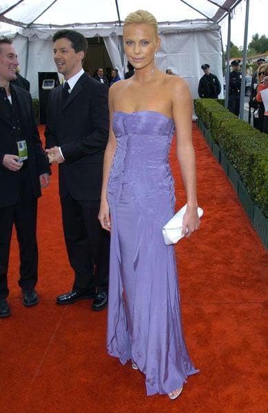 Charlize Theron at the 2004 SAG Awards