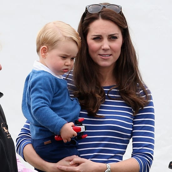 Prince George Helping Kate Middleton Decorate For Christmas