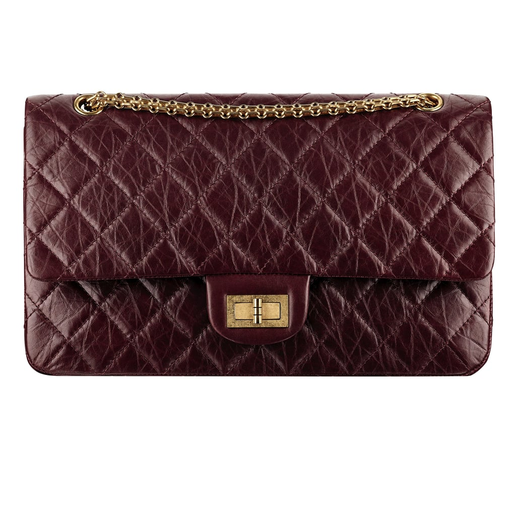 Chanel Dark Red Aged Leather Bag With a Mademoiselle Lock Photo courtesy of Chanel