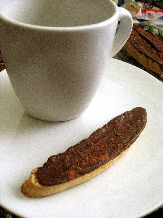 Chocolate Citrus Biscotti