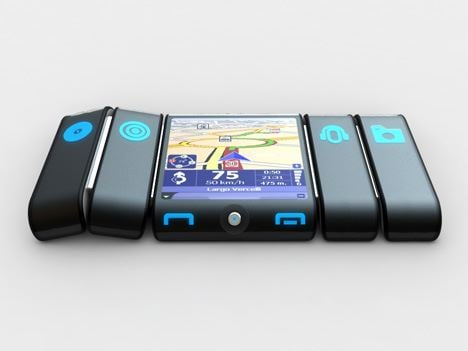 Bendy 'Lobster' Multimedia Concept Snaps Around Arm