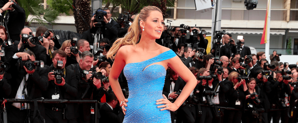 You Can Tell This Is Blake Lively's Favourite Cannes Gown Just From the Way She's Working It