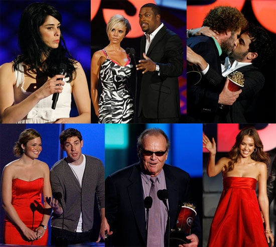 MTV Kept It On The Tame Side at Movie Awards
