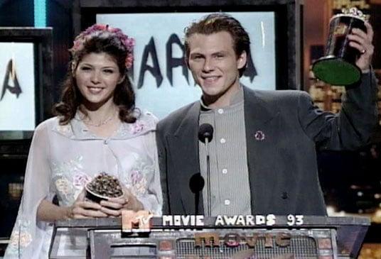 Christian Slater and Marisa Tomei, 1993
