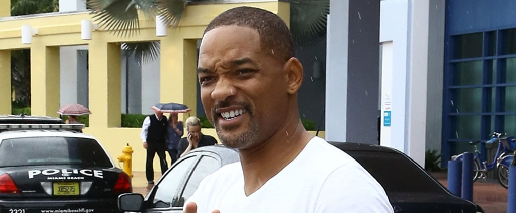 Will Smith Steps Out in Miami, Big Willie Style