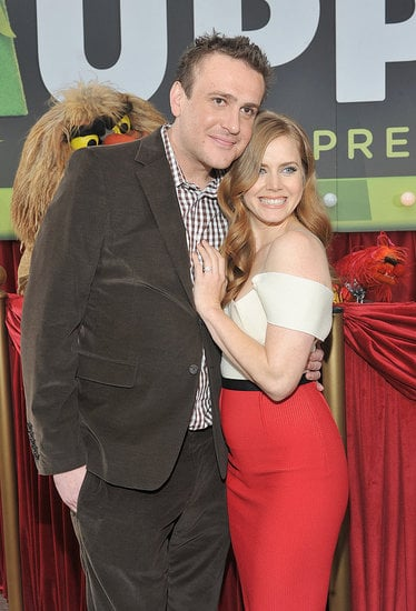 Jason Segal and Amy Adams teamed up at the premiere of The Muppets in Hollywood on Nov. 12.