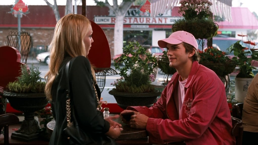 Somehow, Ashton rocked a pink hat like no one else.