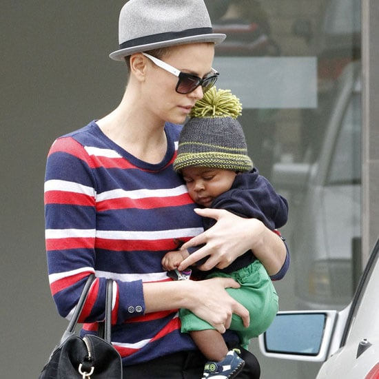 Charlize Theron Shaved Head Pictures