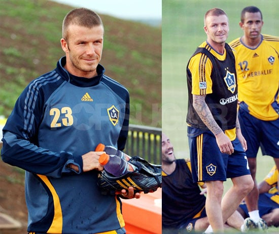 David Beckham Says Aloha