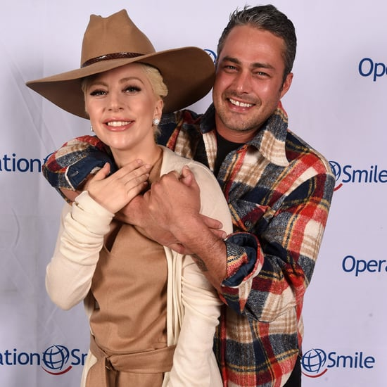 Lady Gaga and Taylor Kinney at Operation Smile's Ski Event