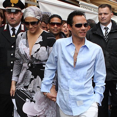 Jennifer Lopez and Marc Anthony Shop in Italy