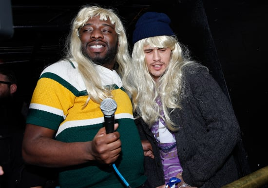 Pictures of James Franco at Sundance In a Wig, Rapping, and Dancing 2011-01-23 13:30:00