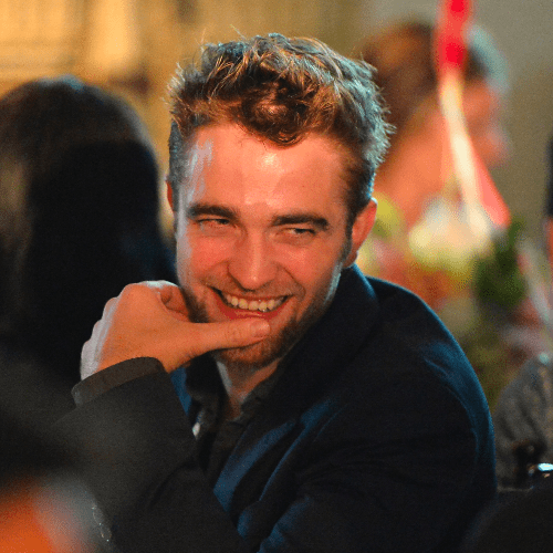 Robert Pattinson Applies His Dior Fragrance in the Shower