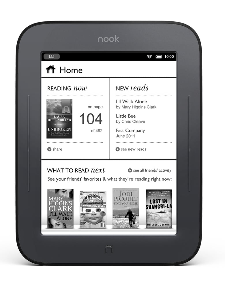 Barnes & Noble Announces New Nook: The Simple Touch Reader