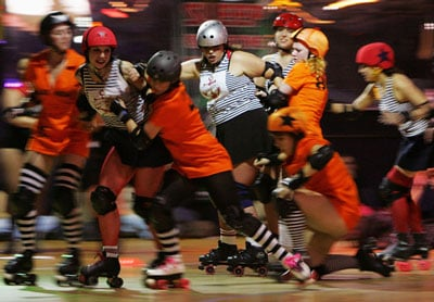 Unleash Your Inner Bad A** With Roller Derby