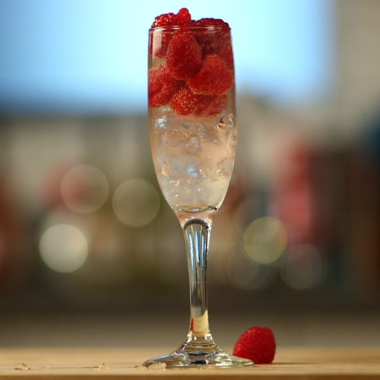Lemon Raspberry Fizz Cocktail Recipe Video