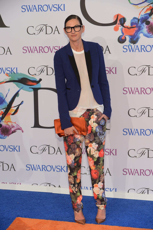 Jenna Lyons at the 2014 CFDA Awards