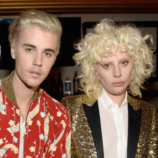 Lady Gaga and Justin Bieber | Saint Laurent Show 2016