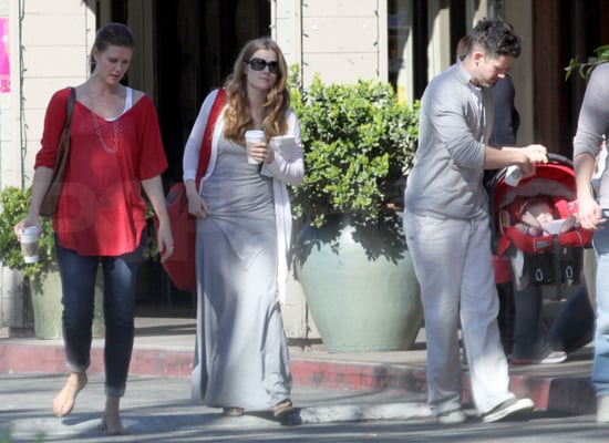 Pictures of Amy Adams With Daughter Aviana in LA
